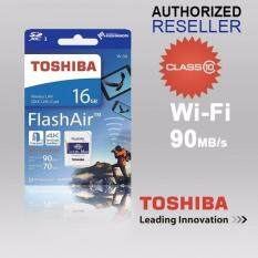 Toshiba Flashair 4 Iv 16gb 32gb 64gb Wireless Wifi Class 10 Sd Memory Card (toshiba Malaysia) By Livinggears Malaysia.