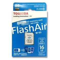Toshiba Flashair Iii 16gb W03 Wireless Wifi Sdhc Class 10 Memory Card By Best Istore.