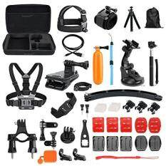 Toughsty Common Outdoor Sports Essentials Kit for All GoPro Hero 5 4 3 2 1 Action