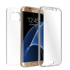 Free Shipping TPU Crystal Clear Cover Full Body Protective Case For Samsung Galaxy S7 Edge Clear