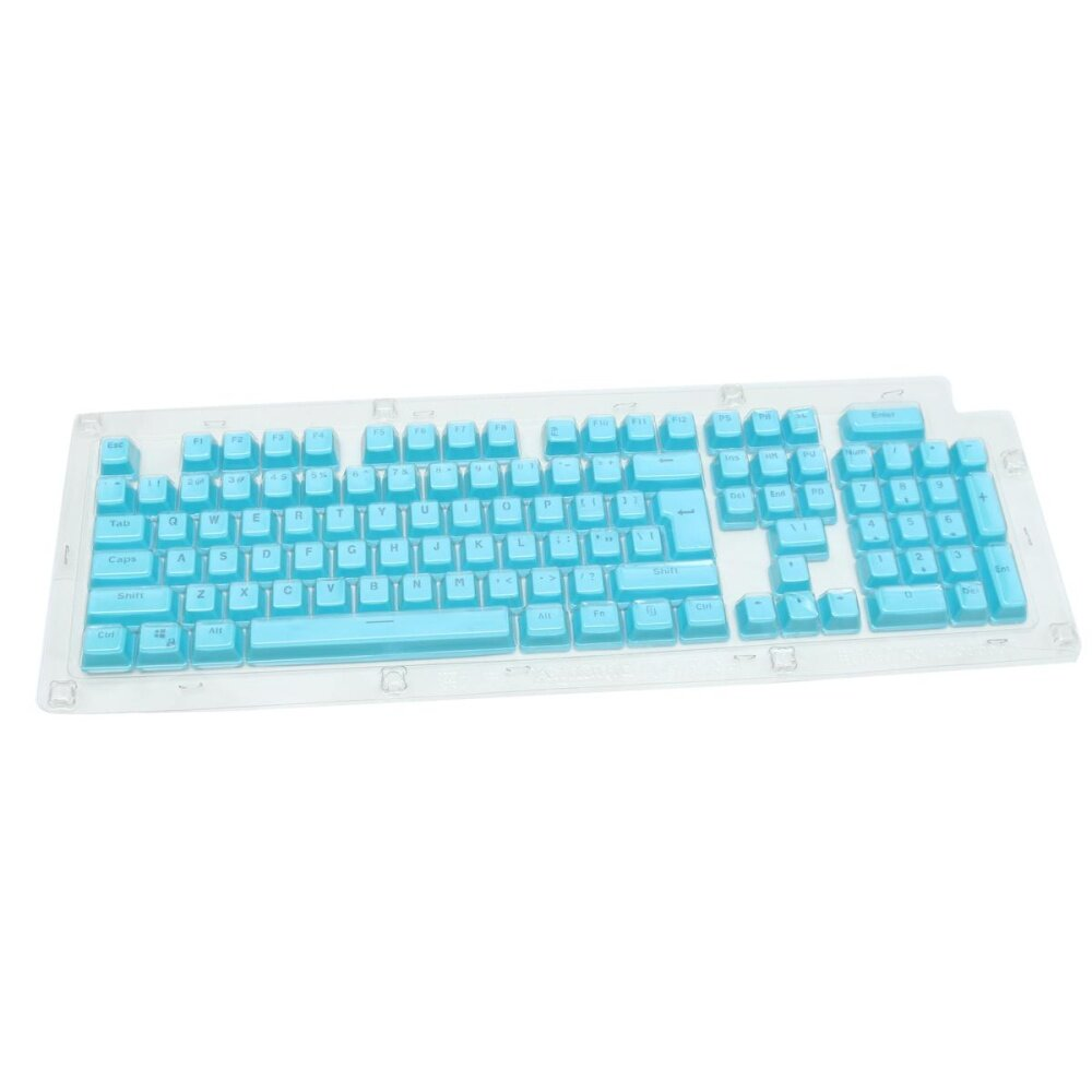 ... Translucent Double shot PBT 104 KeyCaps Backlit for Cherry MX Keyboard Switch intl