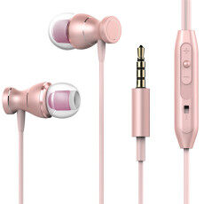 TTLIFE Magnetic Earphones Headphone Metal Headsets Hot Sale 3.5mm Super Bass Stereo Earbuds With Mic