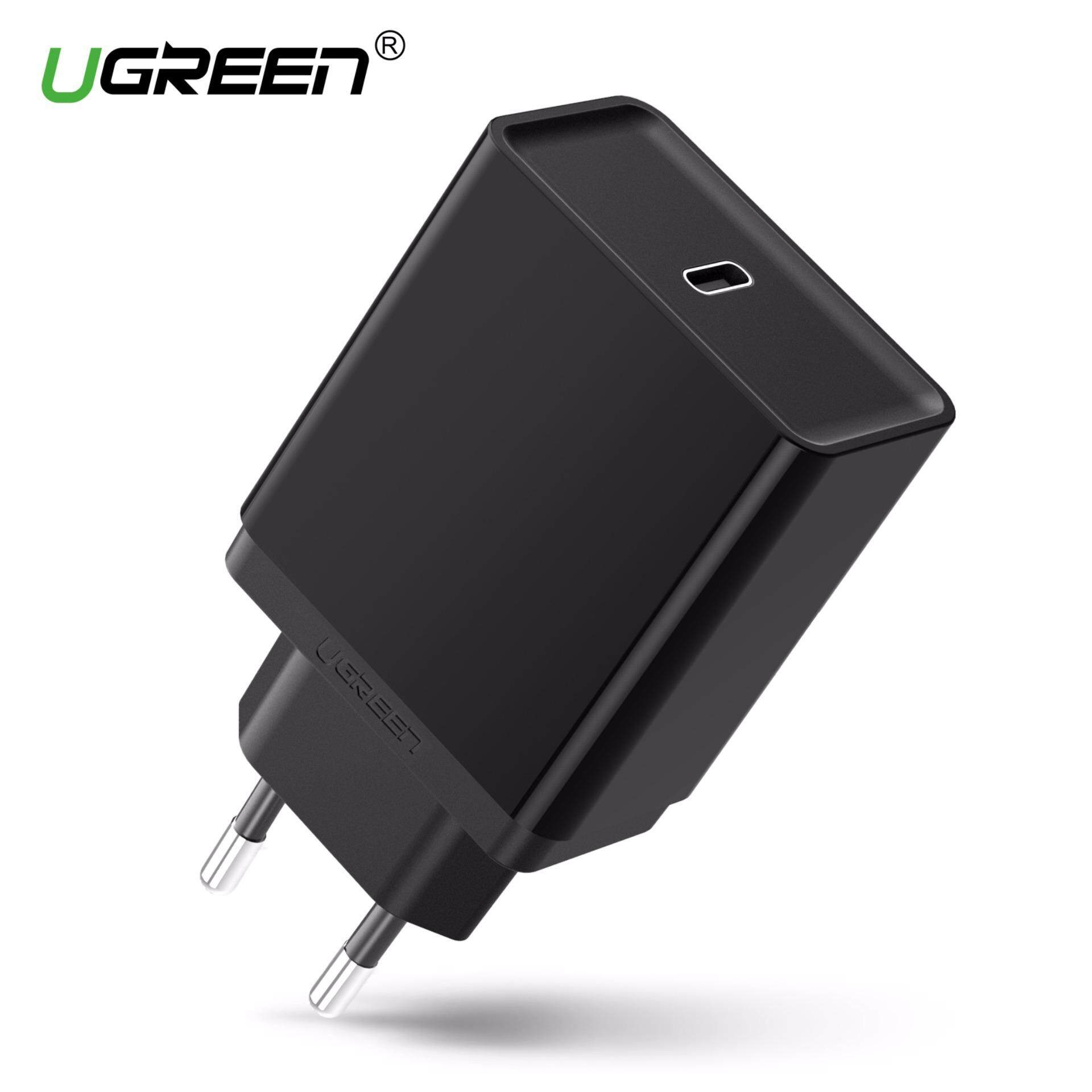 UGREEN USB Type-C 30W Wall Charger With Power Delivery Fast Chargingfor iPhone 7/ 8/X/8 plus,Huawei mate 9/mate 10/P20,Samsung Galaxy S8/S9,Macbook, Nexus 6P/5X,Nintendo Switch,Google Pixel 2 XL EU Plug - intl