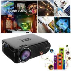Uhappy U90 7000 Lumens 3D Projector 1080P HD LED Theater Cinema VGA USB SD HDMI EU Plug