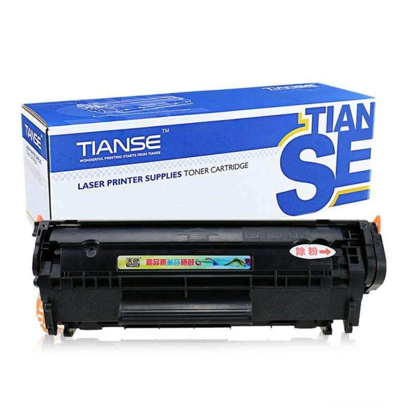 UINN TIANSE Q2612A Toner Cartridge for HP1020 M1005 MFP Laserjet 1pc Optional (Non-OEM) Black - intl
