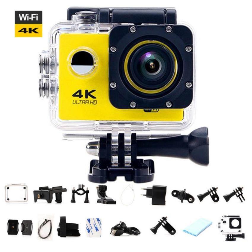 Ultra HD 4K WiFi Action Camera Sport DV LCD 170D Len Helmet Camera Underwater go Diving Waterproof pro Camcorder 1080P 16MP Camera