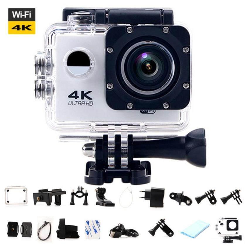 Ultra HD 4 K WIFI Kamera Aksi Olahraga DV LCD 170D Len Kamera Helm Bawah Air Menyelam Tahan Air Camcorder Pro 1080 P 16MP Kamera -Intl