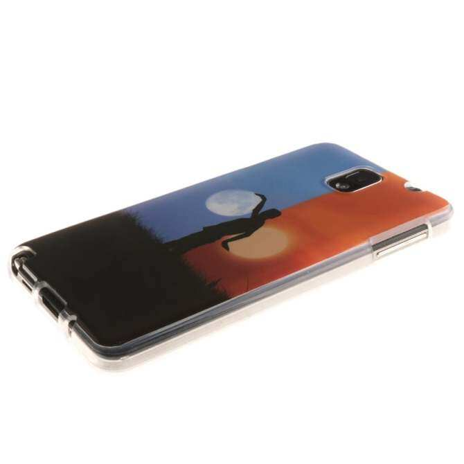 Ultra Slim Fit Soft TPU Phone Back Case Cover for Samsung Galaxy Note 3 N9000 (