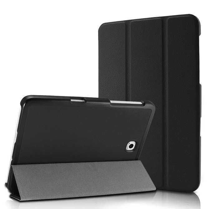 Ultra Ramping Tri-lipat Pintar Case Sarung untuk Samsung Galaksi Tab S2 8.0 Tablet Saja untuk WiFi SM-T710/ LTE SM-T715-Internasional