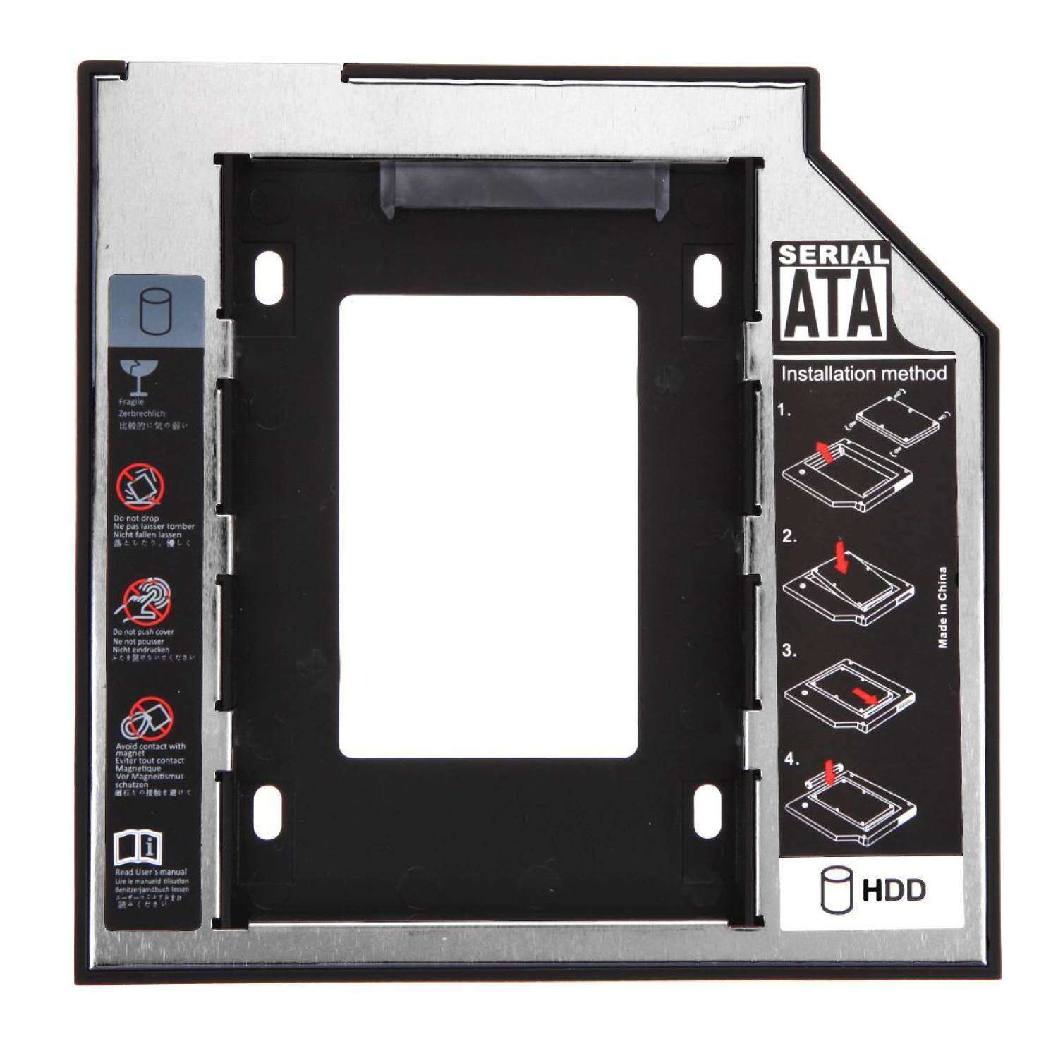 Buy Sell Cheapest 2nd Sata Ssd Best Quality Product Deals Hdd Caddy Universal 25 95mm Hd Hard Disk Drive Adapter Bay F