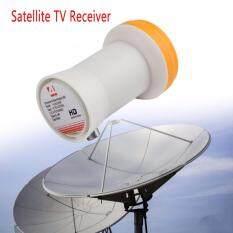 Universal Ku-Band Single Lnbf 9.75/10.6ku Dual Output Full Hd Digital Ku Lnb Satellite Receiver High Band Low Band By Ruimeng Company.