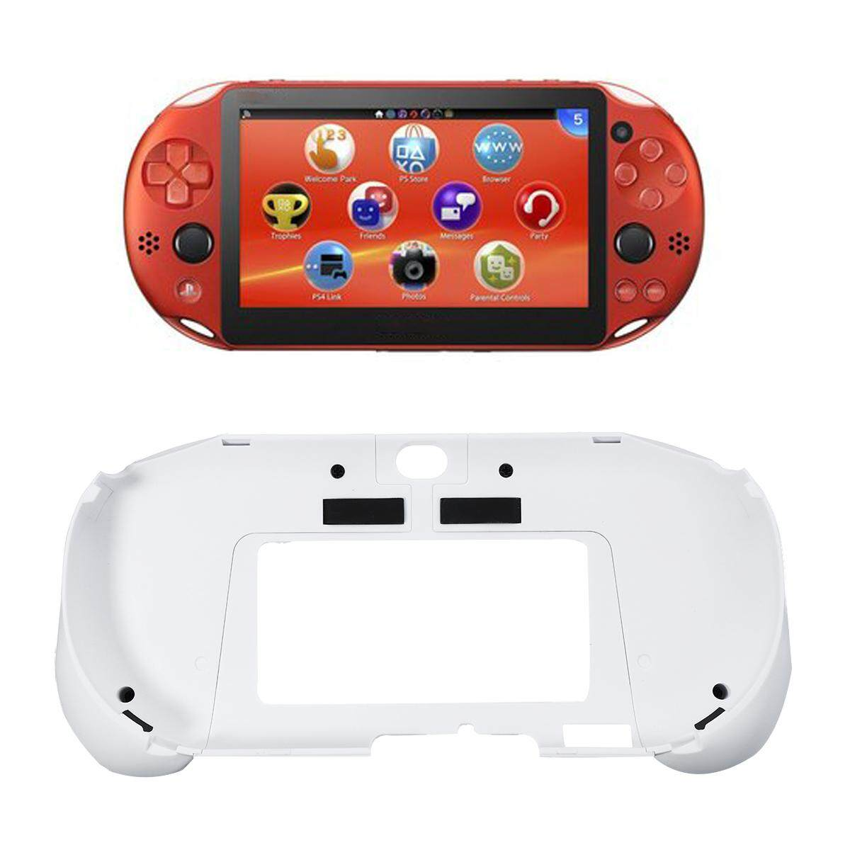 Upgrade L2 R2 Handle Grip Case Cover Protector Trigger Holder for PS Vita 1000 White - intl