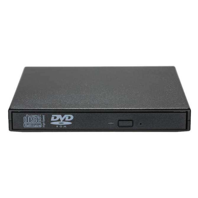 USB 2.0 Portable Slim External DVD-RW/CD-RW Optical Disc Drive Reader Writer Player with Combo CD-RW Burner for MacBook/Air/Pro Laptop PC Desktop