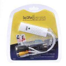 USB 2.0 Video TV Tuner DVD Audio Capture Card Adapter for Windows Win 7/8 Mac OS