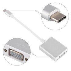 Epayst Usb 3.1 Type C To Vga Video Adaptor Cable Connector Silver By Epayst.