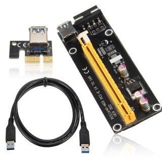 Bộ Chuyển Đổi Thẻ Mở Rộng USB 3.0 PCI-E Express 1x Sang 16x, Cáp Nguồn 4PIN thumbnail