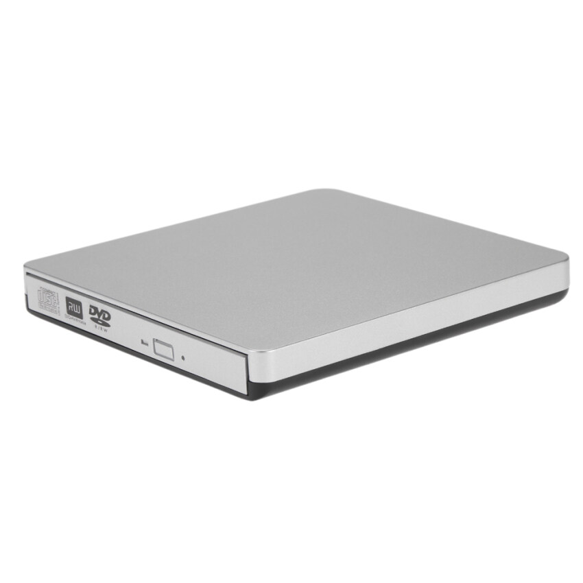 AirSky USB 3.0 Portable Ultra Slim External CD-RW DVD-RW CD DVD ROM Player Drive Writer Rewriter Burner for iMac/MacBook/MacBook Air/Pro Laptop PC Desktop - intl