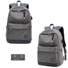 USB Charge Computer Bag Notebook Backpack 15/17 inch Laptop Bookbag Men Women Malaysia