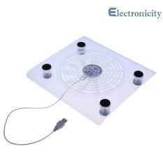 New USB Cooling Big Fan LED Light Cooler Pad For Laptop PC Notebook(Random) Malaysia