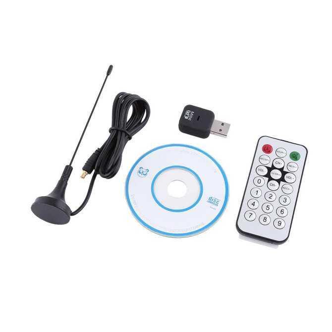 USB DVB-T TRUYỀN HÌNH Kỹ Thuật Số Sóng Dính Phát OSD MPEG-2 MPEG-4 Cho Laptop