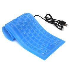 USB Mini Flexible Silicone Keyboard Foldable for Laptop Notebook Malaysia