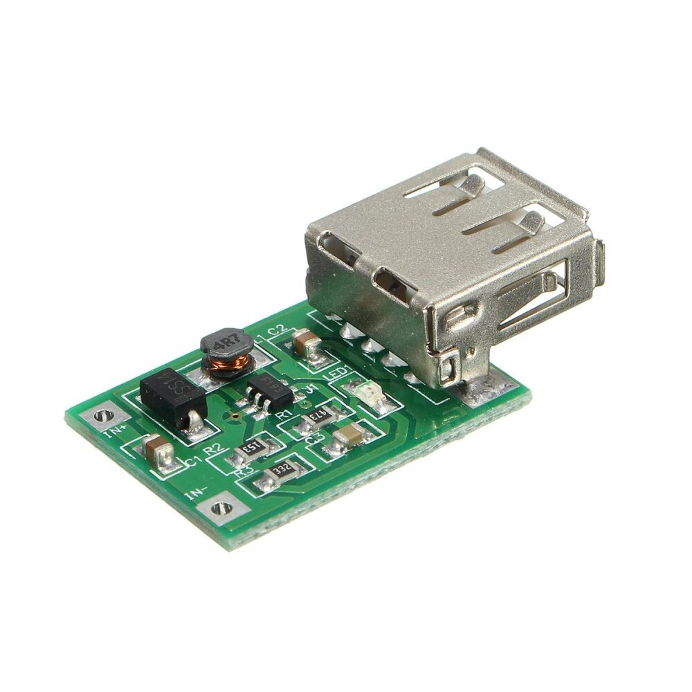 USB Mobile Power Supply Module DC-DC 2V-5V to 5V 1200MA 1.2A Step-Up Booster - intl