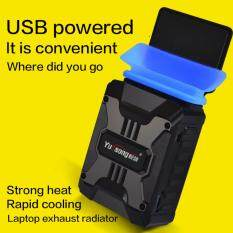 USB V6 Exhaust Laptop Cooler15.6 inch / 14 inch Computer Universal Fan Machine  Air-cooled Exhaust Malaysia