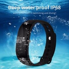 V66 IP68 Deep Waterproof Smart Band OLED Touch Screen Bluetooth 4.0 Sport Pedometer Smart Watch for Apple IOS Android