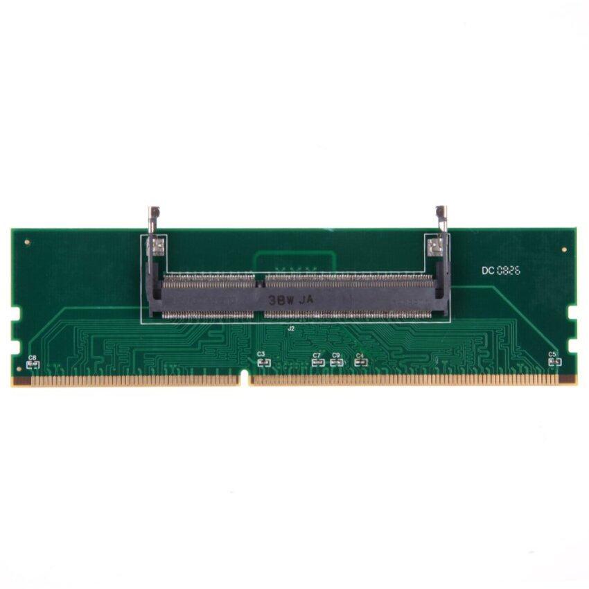 VAKIND Practical 1.5V DDR3 204 Pin Laptop SO-DIMM to Desktop DIMM Memory Adapter