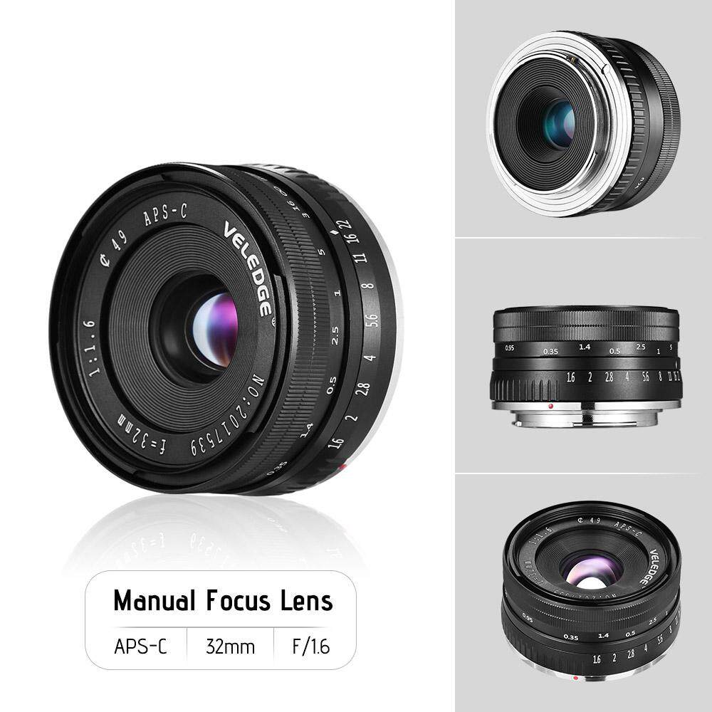 Meike Mk E 35 17 35mm F17 Large Aperture Manual Focus Aps C Camera Lensa For Sony Mirrorless A5000 A5100 A6000 A6300 A6500 Fix Bokeh Source