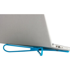 Velishy Laptop Cooling Stand Portable Plastic (Blue) Malaysia