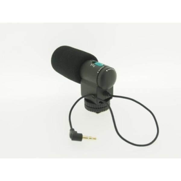 Vhbw Externes Stereo Mikrofon F? R Canon, Nikon, Olympus, Panasonic, Pentax, Samsung, Sony Alpha, AS a. Camcorder Und Kameras Z. B. EOS 60D 70D 5D 6D 7D.-Intl