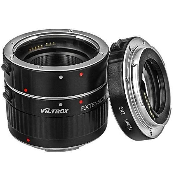 VILTROX Automatic Zwischenringe 12/20/36 Mm Fuer Makrofotographie Fuer Canon EOS 1200D, 1100D, 1000D, 700D, 650D, 600D, 550D, 500D, 450D, 400D, 350D, 300D, 100D, 70D, 60D, 50D, 40D, 30D, 20D, 10D, 7D, 6D, 5D & 1D Serie (Aluminium Bajonett)-Intl