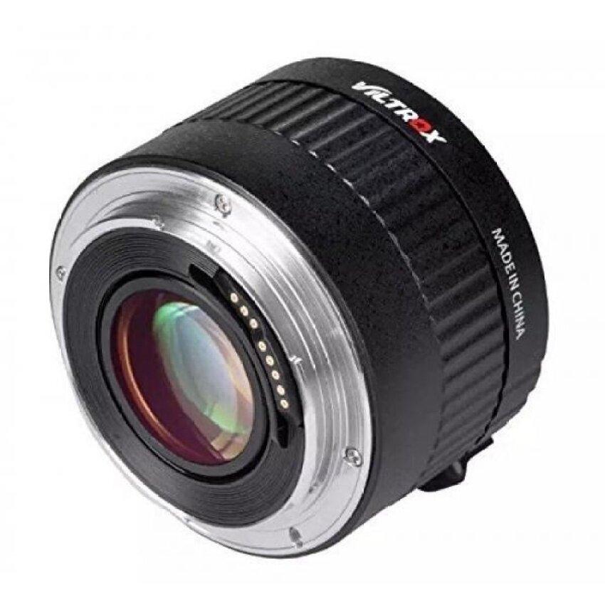 VILTROX C-AF 2x Magnification Teleconverter Extender Otomatis Focusmount Lensa untuk Canon EOS EF Lensa 5D II 7D 6D T5i T4i t3i 5D II 7d6d T5i T4i T3i 1200D 760D 750D HAOe954-Internasional