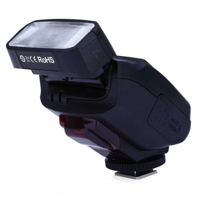 VILTROX JY-610C Mini TTL LCD Flash Speedlite Light untuk Canon 750D/760D/5DR/5DRS/60D 70D /700D/5D3 DSLR Kamera (...) (Luar Negeri)-Intl