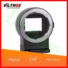 Viltrox Mount Adapter Nf-E1 Exif Signal Transmission Auto Focus For Nik0n F-Mount Series Lens To Be Used On S0ny Camera By Dream With You.