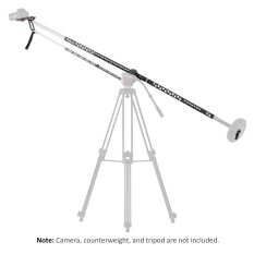 Viltrox YB-Z300 3m / 10ft Professional Foldable Extendable Aluminum Alloy Camera Crane Jib Arm Photography Jib for Canon Nikon Sony Olympus Pentax DSLR Cameras Video Cameras Load Capacity 10Kg