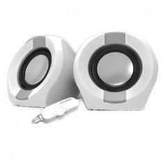 Vinnfier Icon 202 2.0 USB Powered Speaker (White/Grey) Malaysia