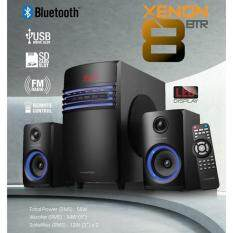 Vinnfier Xenon 8 BTR 2.1 Speaker With Bluetooth, USB and Radio Function Malaysia