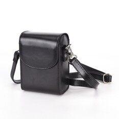 Vintage Sarung Kamera Kulit Tas untuk Sony RX100III RX100M3 Hitam