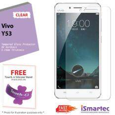 Vivo Y53 Tempered Glass Protector 0.26mm + 9H Hardness (HD Clear)