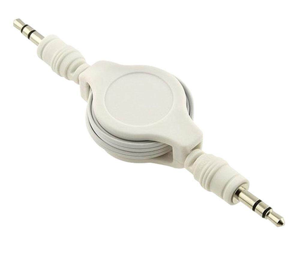Buy Sell Cheapest Jack Audio Aux Best Quality Product Deals Kabel Perpanjangan 35mm Extension Akerfush White Retractable Male To Auxiliary Untuk