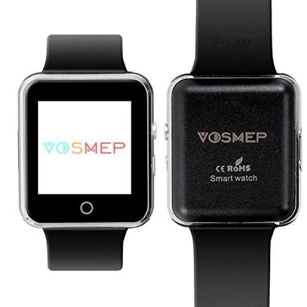 VOSMEP 2016 Neu Smartwatch Uhr Telefon Unterstützung Facebook Twitter mit Bluetooth mart Handgelenk Sport Armband mit Kamera 1.54 Zoll Touch Screen für Android Samsung Huawei LG Xiaomi HTC etc, Unterstützt SIM Smartphone SM15 - intl