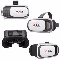 VR Box II (VER 2.0) 3D Virtual Reality Glasses Headset Gear ( WHITE )