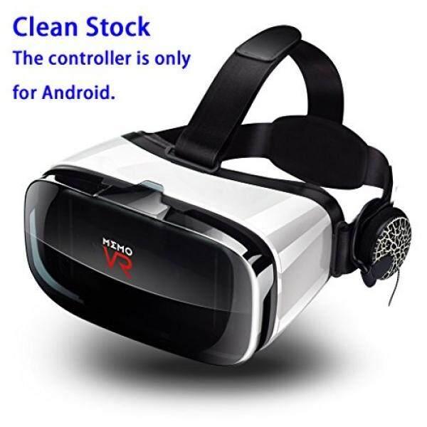 [VR Headset] Y-SD 3D VR Headset Realitas Maya Kacamata dengan Dapat Disesuaikan HD 100% Anti-biru-terang dan Radiasi Lensa, olahraga Headphone-Internasional