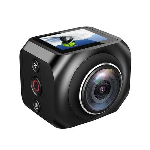 EverGreen VR360 EKEN Video Camera with Remote Control + POLE
