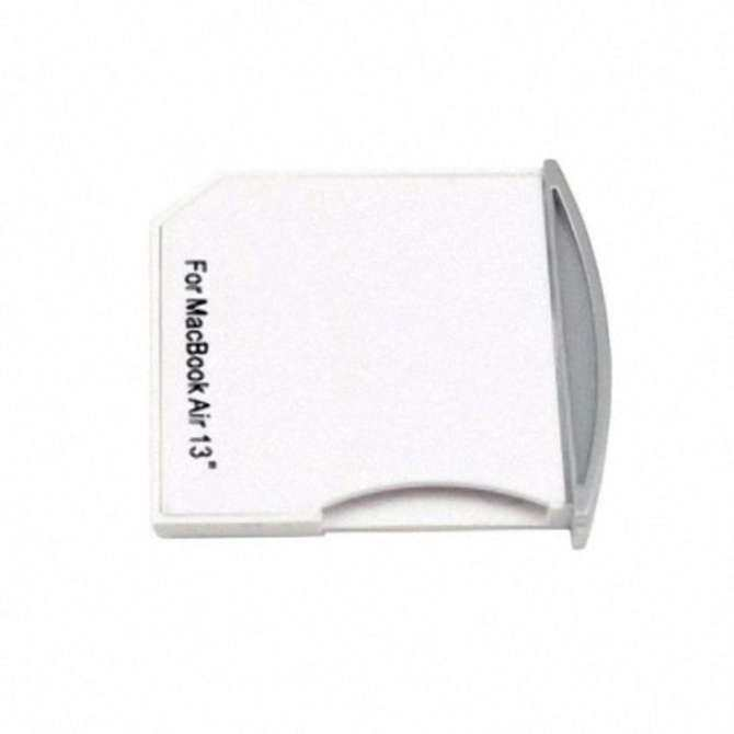 VR_Tech Micro SD TF to SD Card Kit Mini Adaptor for Extra Storage Macbook  Air/ Pro/ Retina White