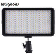 W228 2000LM LED Dimmable Ultra Bright Panel Digital Camera Camcorder Light