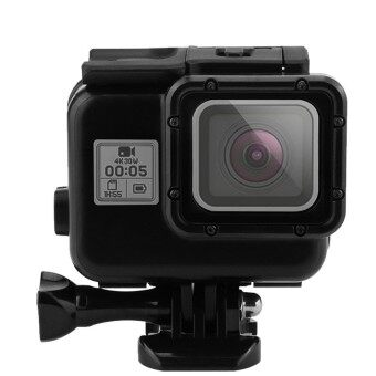 Waterproof Case For Gopro, Shoot Portable 40M Underwater Waterproof Protective Housing Case Cover With Bracket