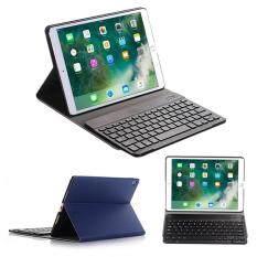Weisizhong Baru Ultra Ramping Pu Sarung Papan Ketik Kulit Pemegang Apple iPad Air 2/iPad Pro 9.7 Case Cover Folio Wireless Auto Tidur /Bangun, ipad Tidak Termasuk
